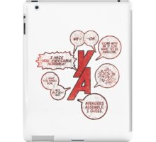 Young Avengers Vol. 2 Collage iPad Case/Skin