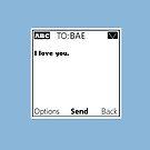Text Bae by gaetax12
