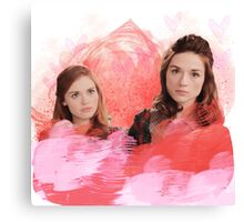 Can You Not? || Allydia Canvas Print