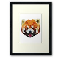 Red Panda Tee Shirt Framed Print
