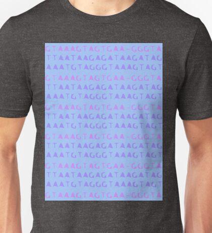 Nucleotide pastels Unisex T-Shirt