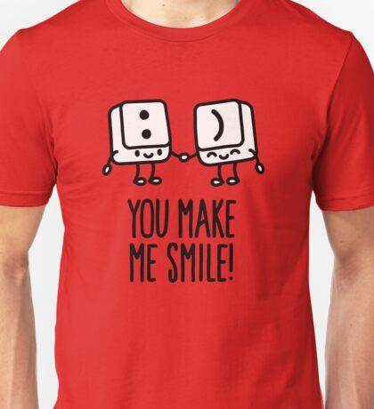 You make me smile Unisex T-Shirt
