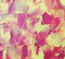 """""""Wildfire"""" original abstract artwork by Laura Tozer by Laura Tozer"""