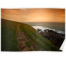 Coastal Path Poster