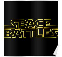 Space Battles Poster