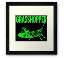 GRASSHOPPER-2 Framed Print