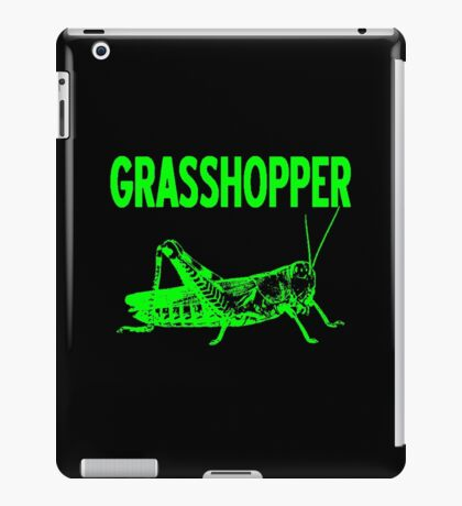 GRASSHOPPER-2 iPad Case/Skin