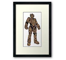 Desert Cam Cybermen Framed Print