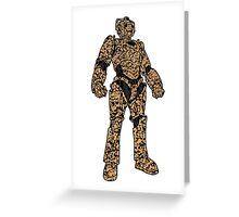 Desert Cam Cybermen Greeting Card