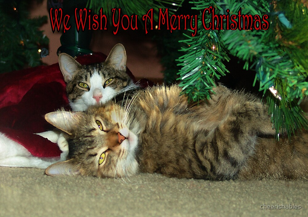We Wish You A Merry Christmas by cheerishables