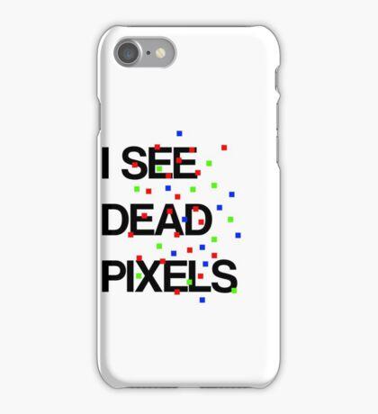 I See Dead Pixels - Modern design iPhone Case/Skin