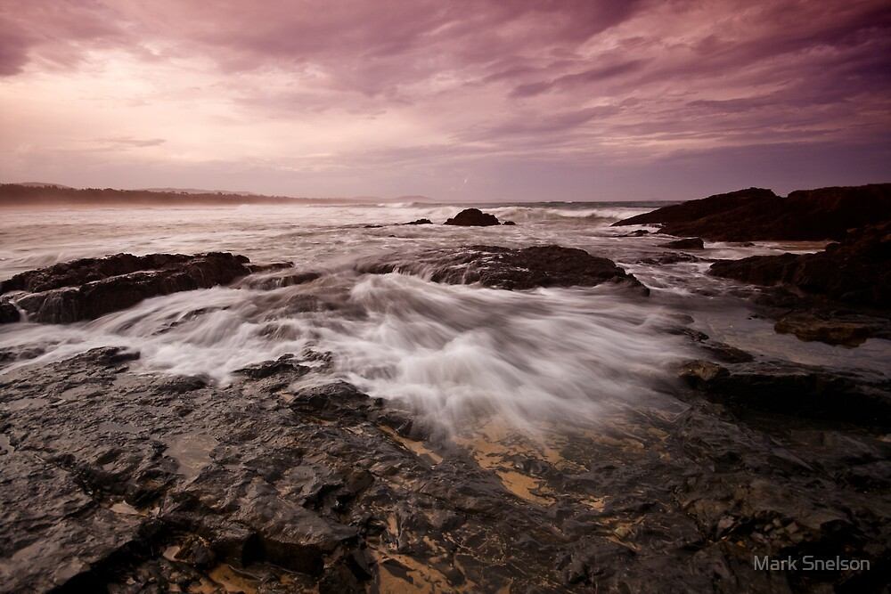 Moonee Headland 8 by Mark Snelson