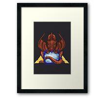 Smaug Framed Print