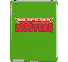 Young Adult Tae Kwon Do Lobsters iPad Case/Skin