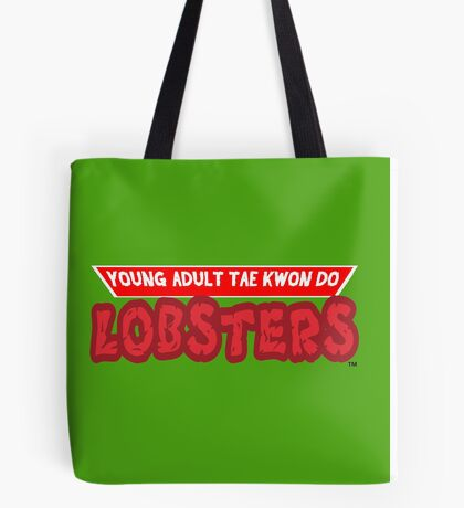 Young Adult Tae Kwon Do Lobsters Tote Bag