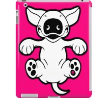 English Bull Terrier Roll Play iPad Case/Skin