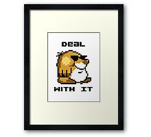 Deal With It - Super Mario World Mole Framed Print
