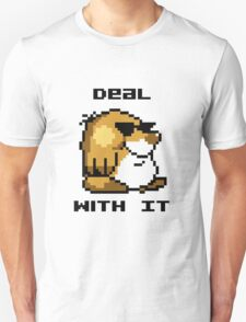 Deal With It - Super Mario World Mole T-Shirt