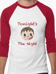 Animal Crossing Dexter Villager Men's Baseball ¾ T-Shirt