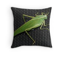 Grasshopper #2 Throw Pillow