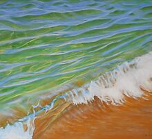 """Shorebreak"" by Carole Elliott"