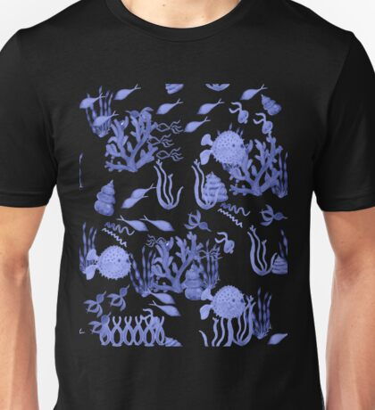 Aquatic China Unisex T-Shirt