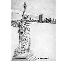 """""""The Statue of Liberty""""  Photographic Print"""