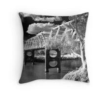 The Morpeth Bridge Throw Pillow