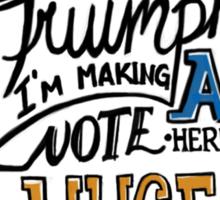 """This was a Triumph"" Sticker"
