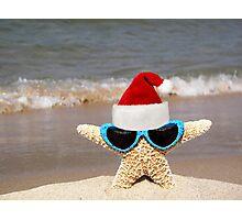 Santa Starfish Photographic Print