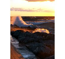 Gale Warning Photographic Print