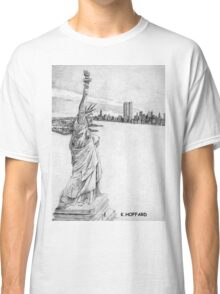 """The Statue of Liberty""  Classic T-Shirt"