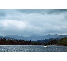 Boat on Bowness Lake District England 198405210009 Photographic Print