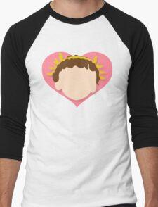 SMITE - Cupid Simple Men's Baseball ¾ T-Shirt