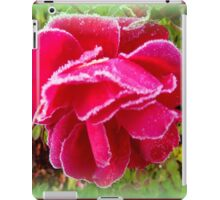 Frosted Rose iPad Case/Skin