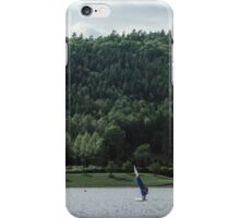 Windsurfer Bowness Lake District England 19840521 0010 iPhone Case/Skin