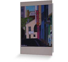 Corrs Lane Greeting Card