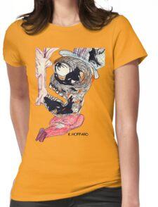 Sleeping Monster  Womens Fitted T-Shirt