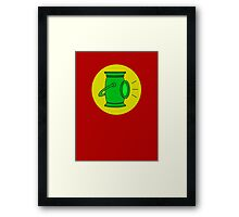 Alan Scott - The Golden Age Green Lantern Framed Print