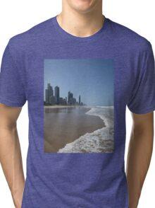 Surfers Paradise Beach Tri-blend T-Shirt