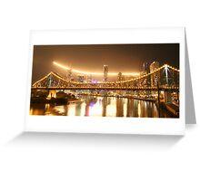 Brisbane Riverfire 2007 Greeting Card