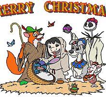 Disney Nativity Scene by Skree