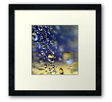 Midas Touch Framed Print