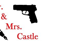 Mr. & Mrs. Castle by CassieBones