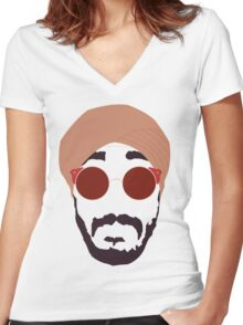Jus Reign Women's Fitted V-Neck T-Shirt