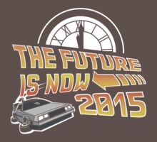 The Future is Now (Back to the Future) One Piece - Short Sleeve