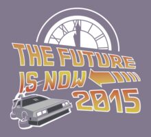 The Future is Now (Back to the Future) Kids Tee