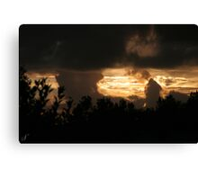 The Nothing Canvas Print