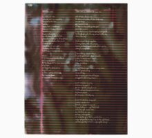 100 - Scattered Resistance -  Poetry Full Page One Piece - Short Sleeve