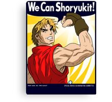 We Can Shoryukit! Canvas Print